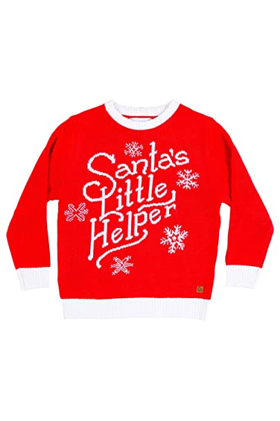 Tipsy Elves Cute Baby Ugly Christmas Sweater , Santa\u0027s Helper Christmas  Sweater Infant