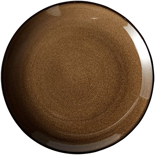 Oneida Foodservice L6753059163 Rustic Chestnut Round Coupe Plate, 12.25