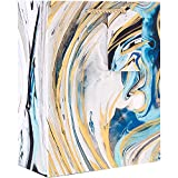 Jillson Roberts 6-Count Medium 8'' x 10'' x 4'' All-Occasion Gift Bags Available in 17 Designs, Marbleized Magic