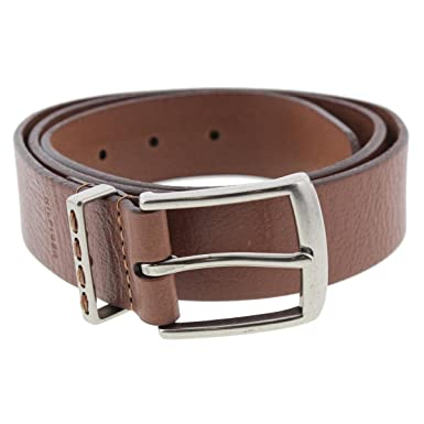 41febdc9a Image Unavailable. Image not available for. Color: Tommy Hilfiger Mens  Leather Textured Casual Belt ...