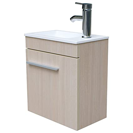 Sliverylake Bathroom Vanity And Sink Combo Wall Mounted Wood Cabinet