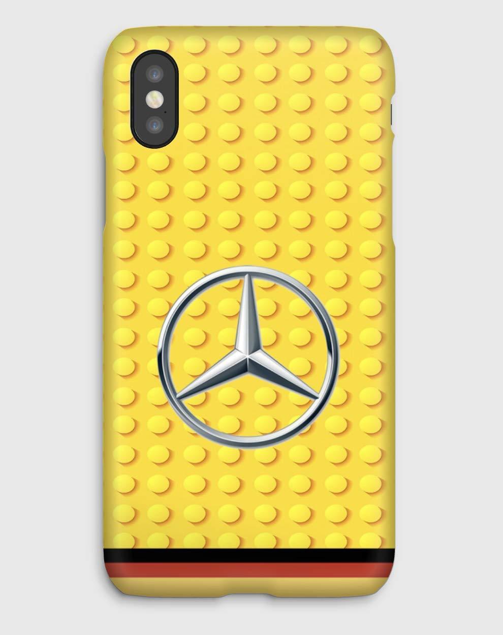 Lego Mercedes Funda para el iPhone XS, XS Max, XR, X, 8, 8+, 7, 7+, 6S, 6, 6S+, 6+, 5C, 5, 5S, 5SE, 4S, 4,
