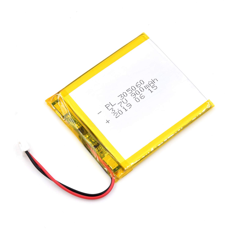Bateria Lipo 3.7V 900mAh 305060 Recargable JST Conector