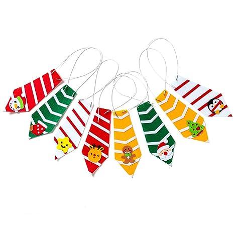 Corbata navideña para niños (8 unidades): Amazon.es: Amazon.es