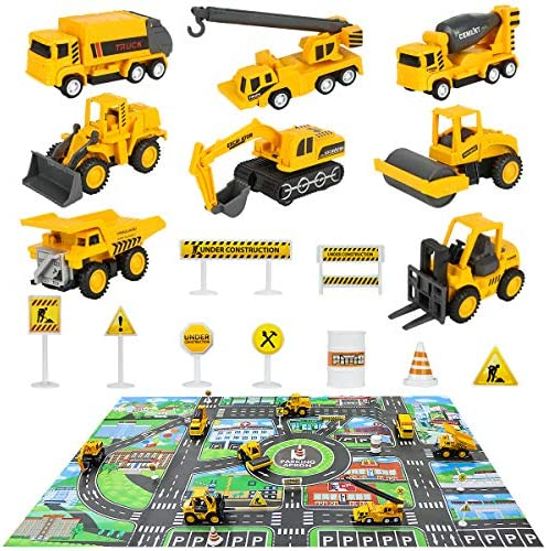 Construction Vehicles Truck Toys Play product image