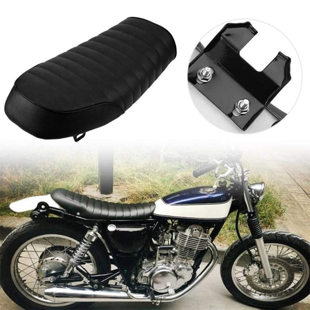 si/ège de selle si/ège de moto vintage si/ège de moto banc souple si/ège de selle Cafe Racer si/ège de moto antichoc Si/ège de moto Cafe Racer noir