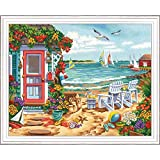 Dimensions Summertime Beach Paint by Numbers Kit