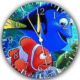Finding Dory Nemo Borderless Frameless Wall Clock Z141 Nice For Decor Or Gifts