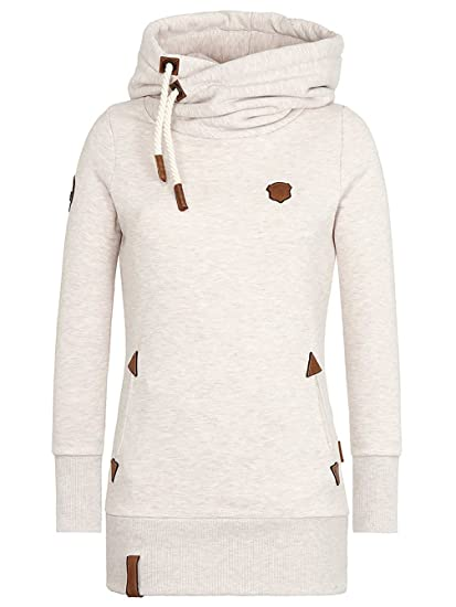 Naketano Damen Kapuzenpullover Darth Long VIII Hoodie