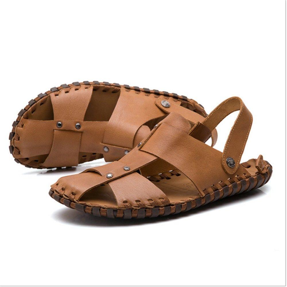 Wagsiyi Hausschuhe Sandale Herren Outdoor Freizeit cm und Anti-Rutsch-Strand Hausschuhe (24,0-27,5) cm Freizeit Strandschuhe (Farbe : Braun, Größe : 40 EU) Braun 0bb90d