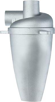 Ciclón de polvo de aleación de aluminio para uso doméstico industrial, colector de filtro de polvo ciclón sin bolsa, filtro de colector de polvo ciclón de alta eficiencia para aspiradoras: Amazon.es: Bricolaje