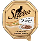 Sheba with Turkey in a White Sauce - Foil Tray (100g) - Pack of 6