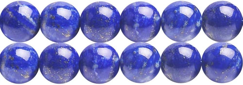 Natural 10mm Natural lapis round beads Genuine Gemstone