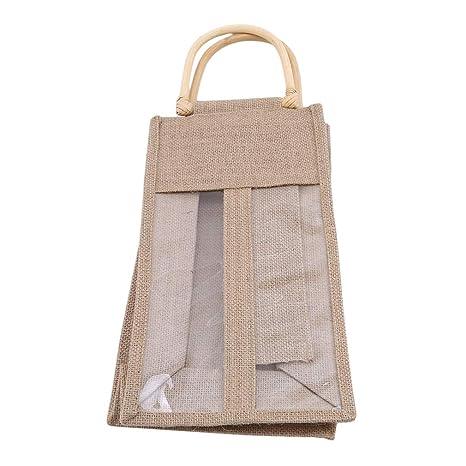 Bolsas de yute kemai para botella de vino, bolsas de regalo ...