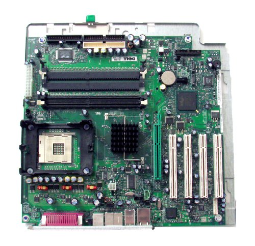 Genuine DELL Intel 875P ChipSet P4 478 MOTHERBOARD w/TRAY For Dell Dimension 8300 Replaces M2035, G0728 Part Number: -