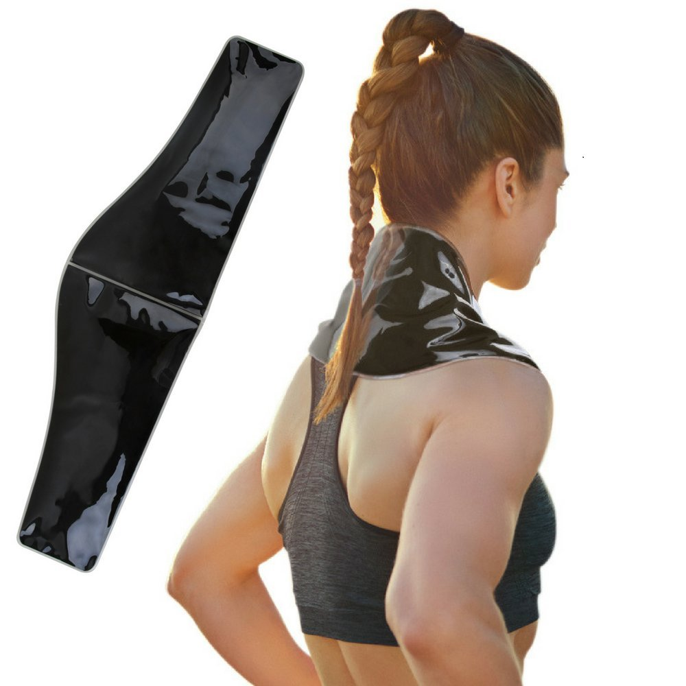 """Premium Clay Ice Pack for Neck and Shoulder Pain Relief (6"""" x 23"""") by FOMI Care 