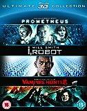Prometheus / I Robot / Abraham Lincoln 3D [Blu-ray]