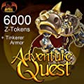 AdventureQuest 6000 Z-Tokens [Game Connect]