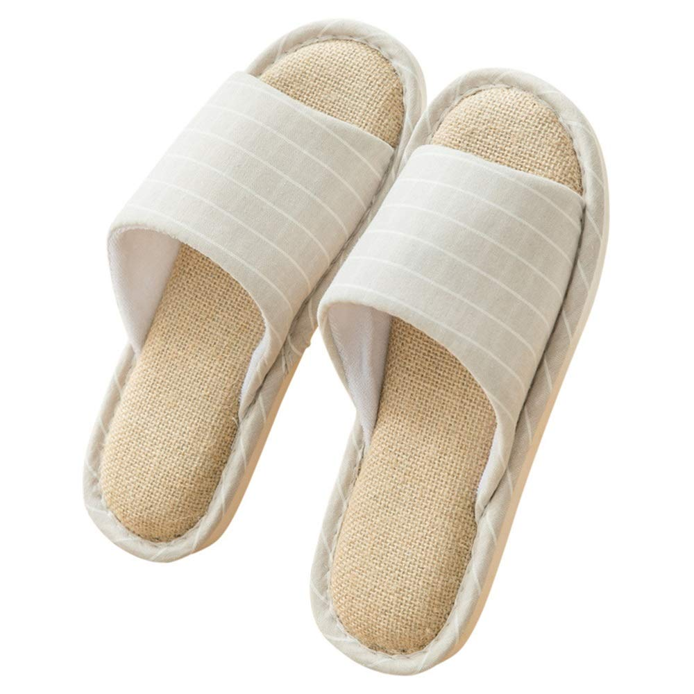 Color : Red, Size : M Slippers washable slippers room shoes cotton material non slip breathable interior wearing for guests for home use for home