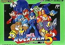 Rockman 5: Blues no Wana!? (aka Megaman 5) Famicom (NES Japanese Import) by Capcom