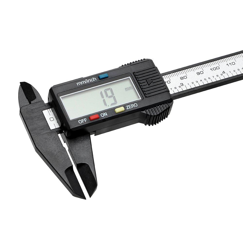 Mess-Werkzeug Messschieber Digital Bildschirm Messung Gauge Lineal 150/mm//15,2/cm