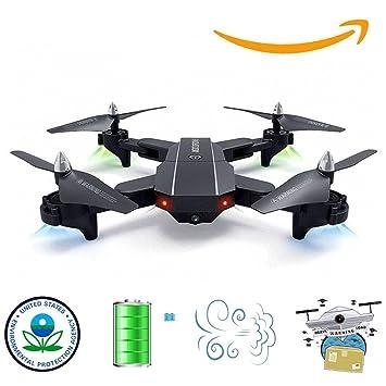 YIQIFEI Drone con cámara para Adultos Cámara 720P HD Video en Vivo ...