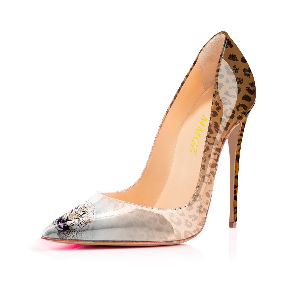 MMGZ - Zapatos de Vestir Mujer 44 EU|Amarillo