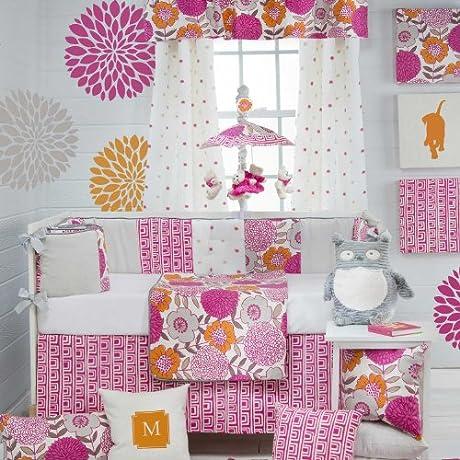 Millie 4 Piece Baby Crib Bedding Set With Bumper By Glenna Jean