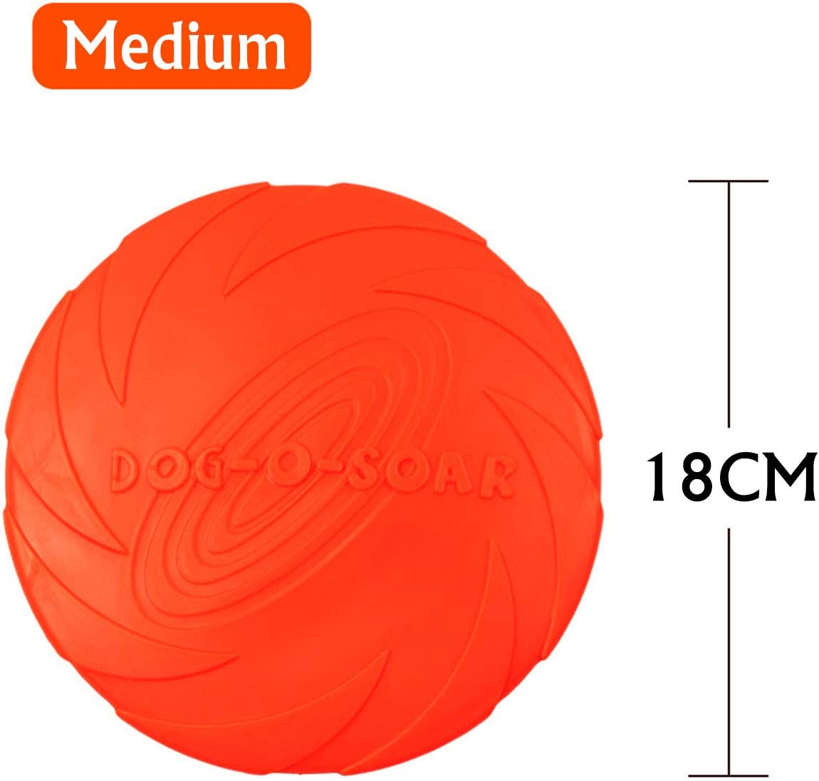 N\A Dog frisbee toys soar frisbee disc dog toy flyer soft dog frisbee float dog training throw toy indestructible puppy toys 2 pack