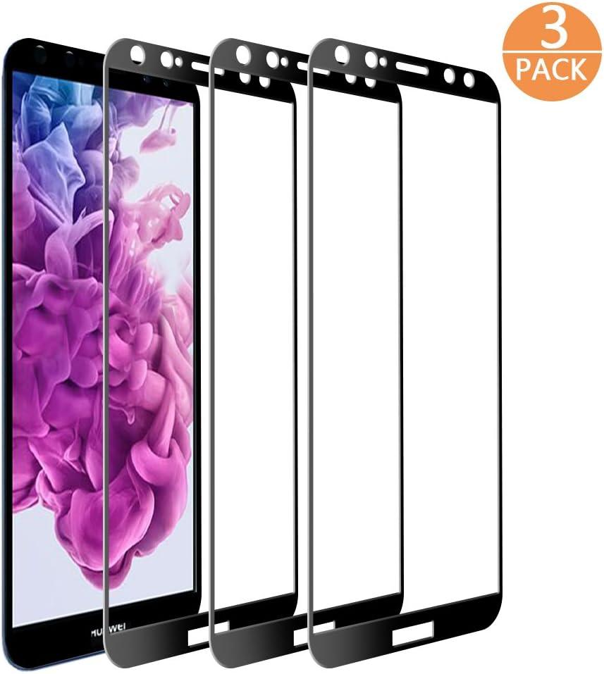 Película protectora Huawei Mate 10 Lite, [3 Piezas] Película protectora de cristal mate Supband 10 Lite HD Película protectora de pantalla ultra clara para Huawei Mate 10 Lite-Negro