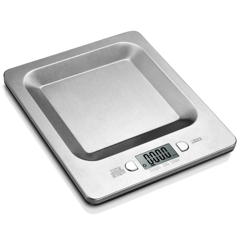 Habor Multifunction Electronic Stainless Kitchen Scale 11lb/ 5kg with LCD Display and Auto-sleep Function for Baking and Cooking Generic