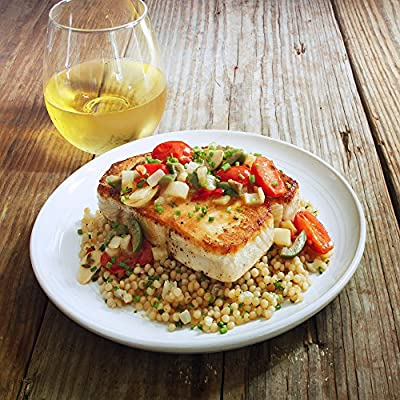 Pan Roasted Swordfish and Toasted Lemon Couscous by Chef'd Partner Ben Ford