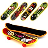Love's 18 PCS Professional Mini Fingerboards Finger Skateboard (12 Normal + 6 Matte)