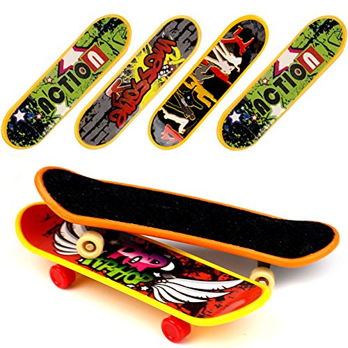HEHALI 18 PCS Professional Mini Fingerboards Finger Skateboard (12 Normal + 6 Matte) ()