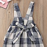 Toddler Kids Baby Girl Stripes Bell-Bottom Jumpsuit Romper Overalls Pants Outfits