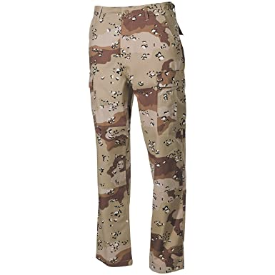 mfh bdu  MFH BDU Combat Trousers Ripstop 6-Colour Desert at Amazon Men's ...