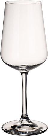 Copas de vino blanco de cristal de calidad y diseño atemporal para la vida cotidiana o las ocasiones