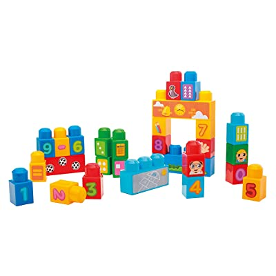 Mega Bloks First Builders 1-2-3 Count 30-Piece (Bag): Toys & Games