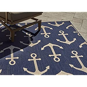 61geCXfbM4L._SS300_ Best Nautical Rugs and Nautical Area Rugs