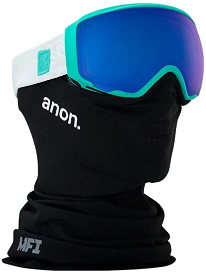 Amazon.com   Anon WM1 Womens Snow Goggles One Size MFI Empress Teal ... 484292ef6