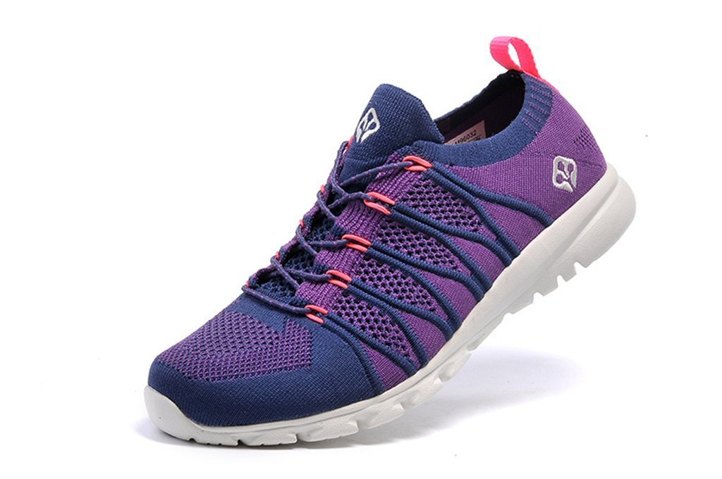 senximaoyi Spring, summer, wear-resisting breathable light shoes,Purple,8.5