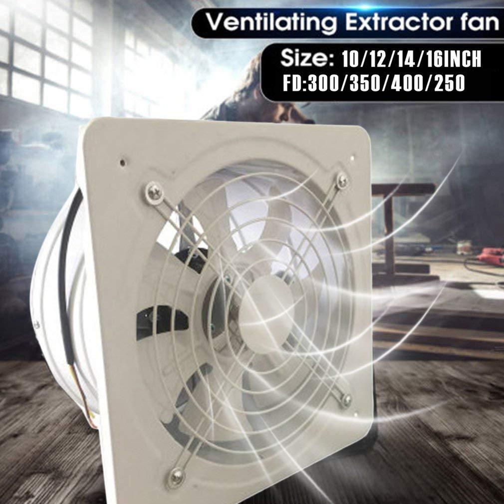 Ventilateur commercial de ventilateur dair dextraction axiale en m/étal dextracteur industriel de ventilation