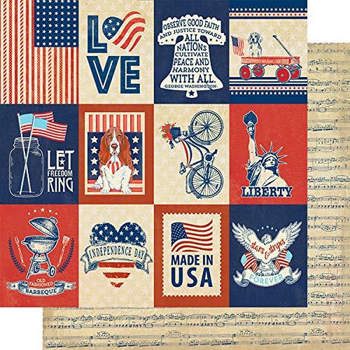 Authentique Paper''Liberty'' 6x6 Paper Pad by Authentique Paper (Image #1)