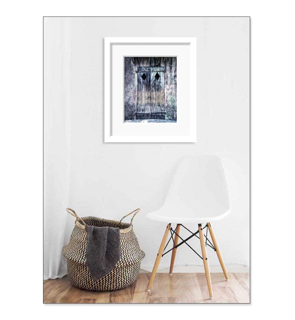 New Orleans Door Picture Architecture Wall Art French Quarter Decor 5x7 Inch Print