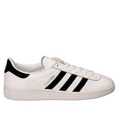 adidas Unisex-Erwachsene Munchen 725 Sneaker Weiszlig;