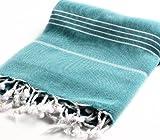 Cacala 100% Cotton Pestemal Turkish Bath Towel, 37
