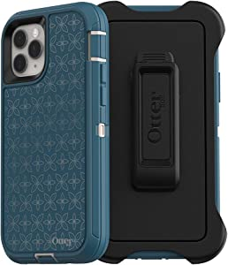 OtterBox DEFENDER SERIES SCREENLESS EDITION Case for iPhone 11 Pro - PETAL PUSHER (PALE BEIGE/CORSAIR/PETAL PUSHER IML)