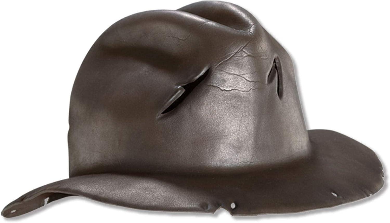 Rubie's Costume Co A Nightmare On Elm Street Freddy Krueger Hat (One Size/Brown): Clothing