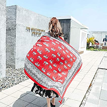 Bufandas Wraps Shawl Toalla de Playa Femenina Verano y Verano Viento Nacional portátil Playa Ultrafina Femenina