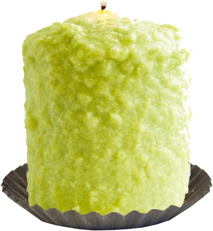 Warm Glow Candle Company Lime Margarita Hearth Candle with Tin, Multi